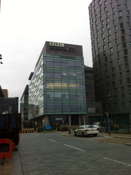 At the BBC again, for the Wildest Winter in Scotland Interview