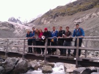 Morteratsch glacier Research Team