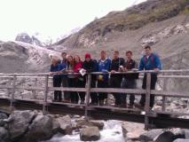Morteratsch glacier Research Team